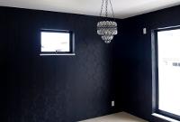黒いクロスの部屋